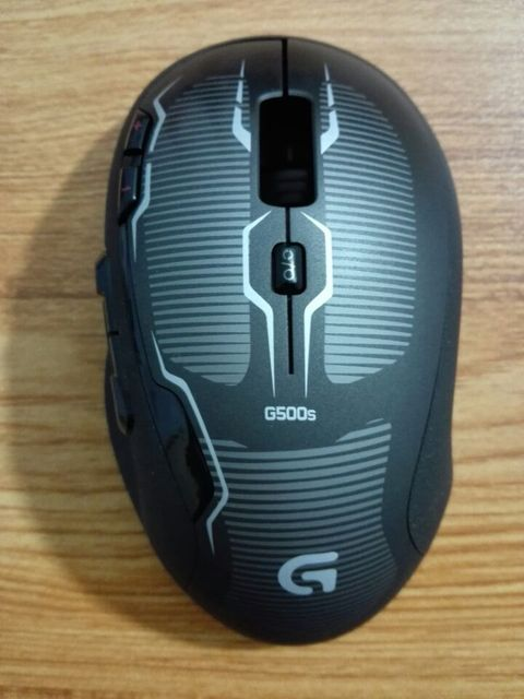 75ff8a16118 1 set mouse top shell +bottom shell for Logitech G500 G500s genuine mouse  case cover mouse housing