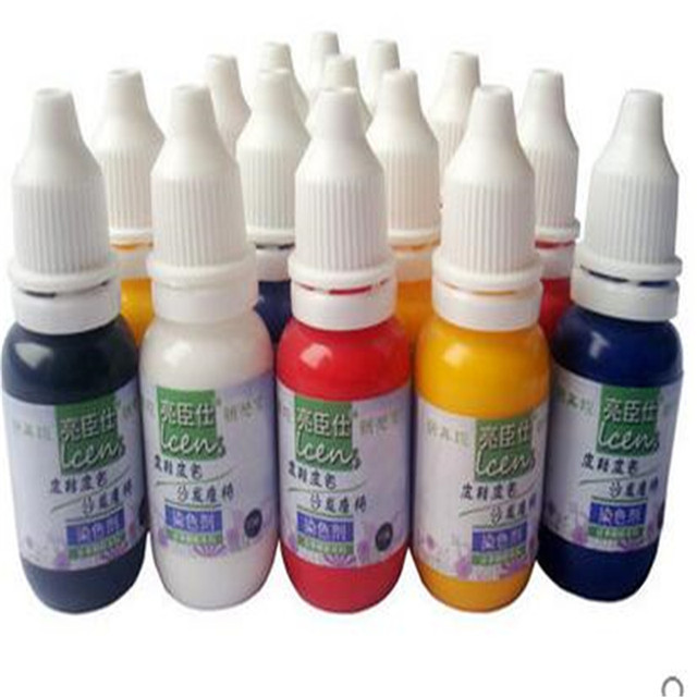 150colors chosing 50ml/pc leather pigment paint leather repair ...