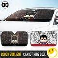Марвел стиль и DC стиль лобовое стекло автомобиля Солнцезащитная крышка ветрового стекла защита от солнечных лучей Авто Zonnescherm зонтик Coche