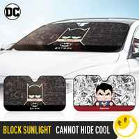 Marvel Style and DC style Car Windshield Sunshade Windscreen Cover Solar Protection Auto Zonnescherm Parasole Parasol Coche