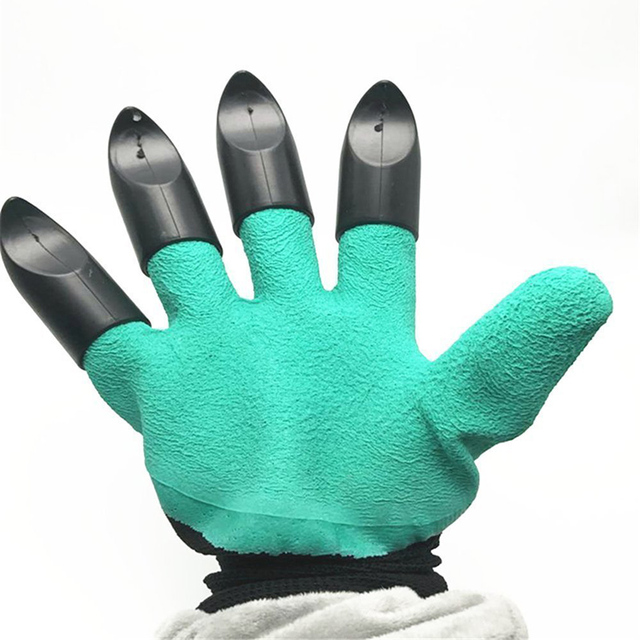 Aliexpresscom Buy Rubber Garden Gloves with 4 ABS Plastic