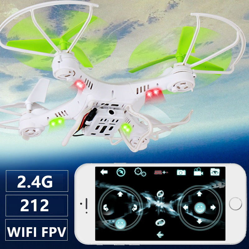 flying drone YD-212 yd212 2.4G 4CH with Camera Real time transmission Phone control RC Quadcopter Headless mode rc Drone kid toy wltoys v686g 4ch 5 8g fpv real time transmission 2 4g rc quadcopter with 2 0mp camera headless mode auto return function us plug