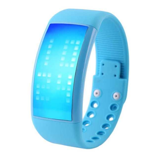 ¡ Caliente! Unisex Deporte Podómetro 3D Reloj de Pulsera de Silicona Banda de Fitness Digital LED Reloj de Pulsera de Calorías Reloj Función