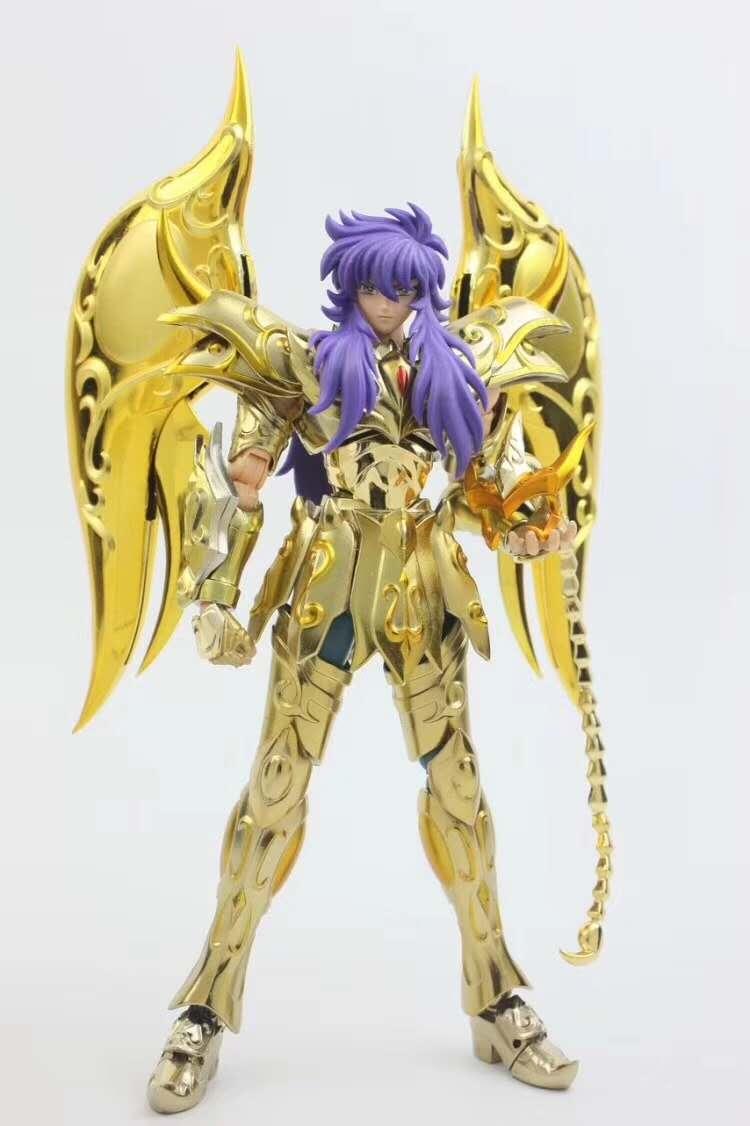 GT Great T Saint Seiya Myth EX Soul Of Gold Dod ราศีพิจิก Milo รุ่นผ้าโลหะ Action Figure S15-ใน ฟิกเกอร์แอคชันและของเล่น จาก ของเล่นและงานอดิเรก บน   1
