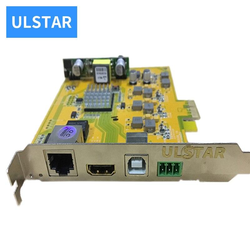 ULSTAR PCI-E Riser avec HDMI USB PC ordinateur carte de Diagnostic carte mère carte mère poste testeur PCI