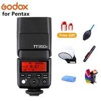GODOX TT350P Camera Flash Thinklite 2.4G HSS 1/8000s TTL GN36 Speedlite for PENTAX 645Z K 3II K 1 KP K 50 K S2 K70 Camera