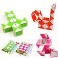 Criativos Da Novidade Dobrável triângulo truques de Mágica 24 PCS truque Cubo do Enigma 3D Mutável Magia brinquedos de Inteligência Brinquedos Para Crianças