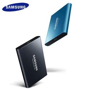 Image 3 - سامسونج t5 المحمولة ssd الخارجية محركات الأقراص الصلبة 250 GB 500 GB 1 تيرا بايت USB 3.1 Gen2 الخارجية وسيط تخزين ذو حالة ثابتة/ القرص الصلب ديسكو دورو ssd المحمولة