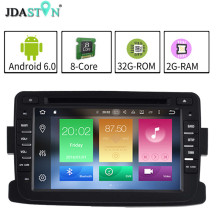 JDASTON 2DIN2GB Ram Android 6.0 Car DVD Player For RENAULT Dacia Duster Logan Octa Core 1080P BT Radio Multimedia GPS Navigation