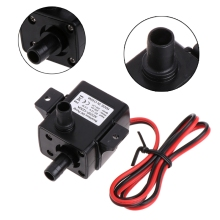 Micro Electric Brushless Water Pump Submersible Pumping Low Noise For Aquarium Fish Fountain Garden DC 12V 4.8W