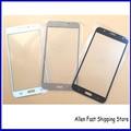 10 Unids/lote, nuevo Vidrio Frontal Para Samsung Galaxy J7 SM-J700F SM-J700F 2016 Frente Lente de Cristal + Logo, Herramientas Gratuitas de Reparación