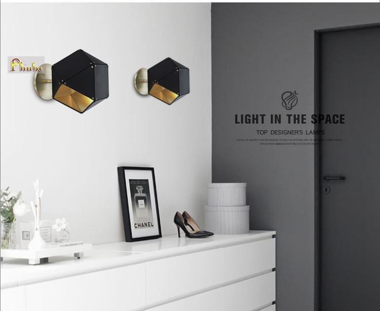 Nordic lampada da parete moderna lampada da parete in metallo