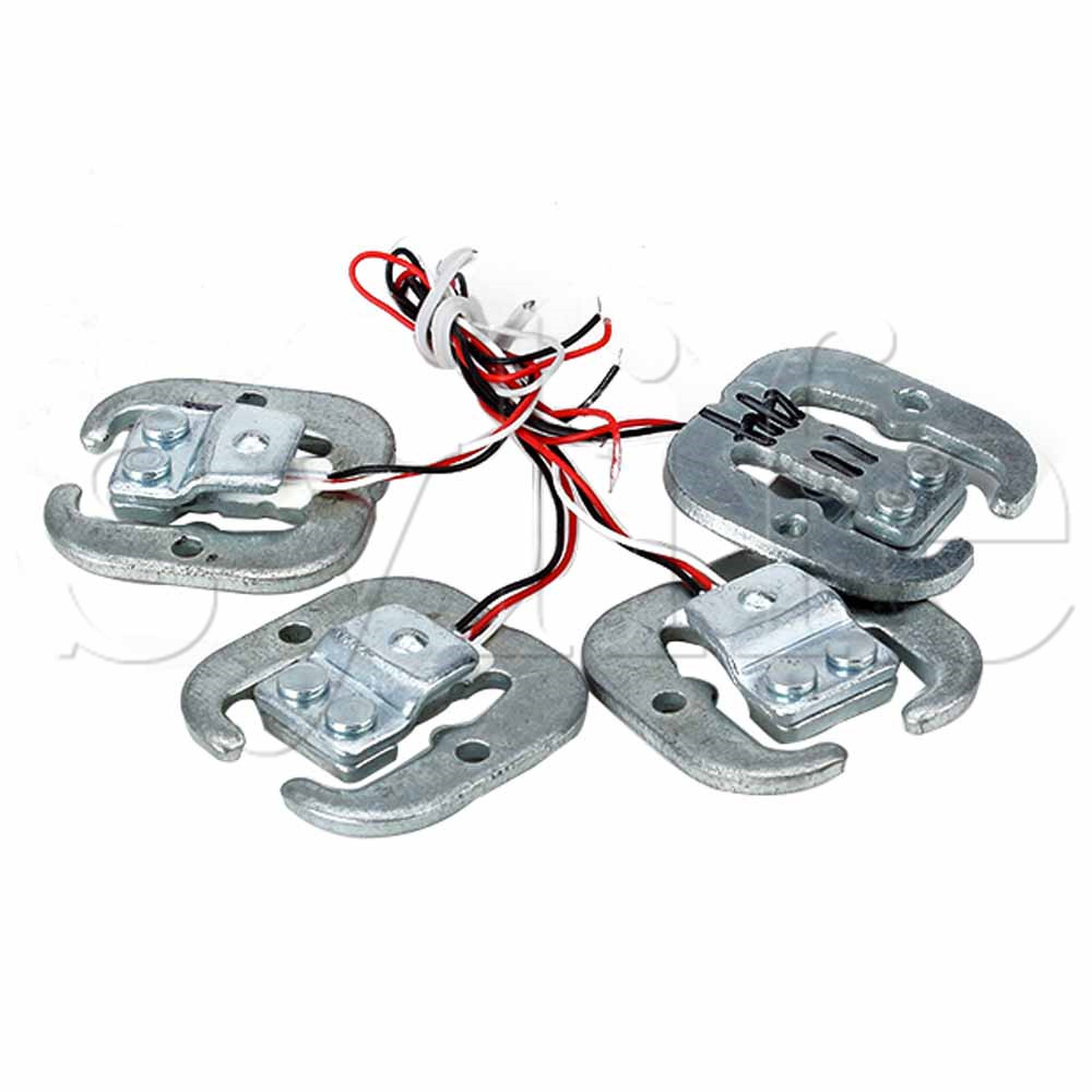 Aluminium Alloy YZC-161E 50kg Human Body Scale Weighing Sensor Pack Of 4