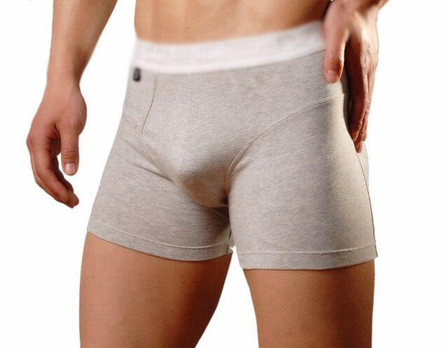 Men Underwear Boxer Ropa Interior Hombre Cotton Boxer Shorts Large Size Men 39 S Underwear U Convex