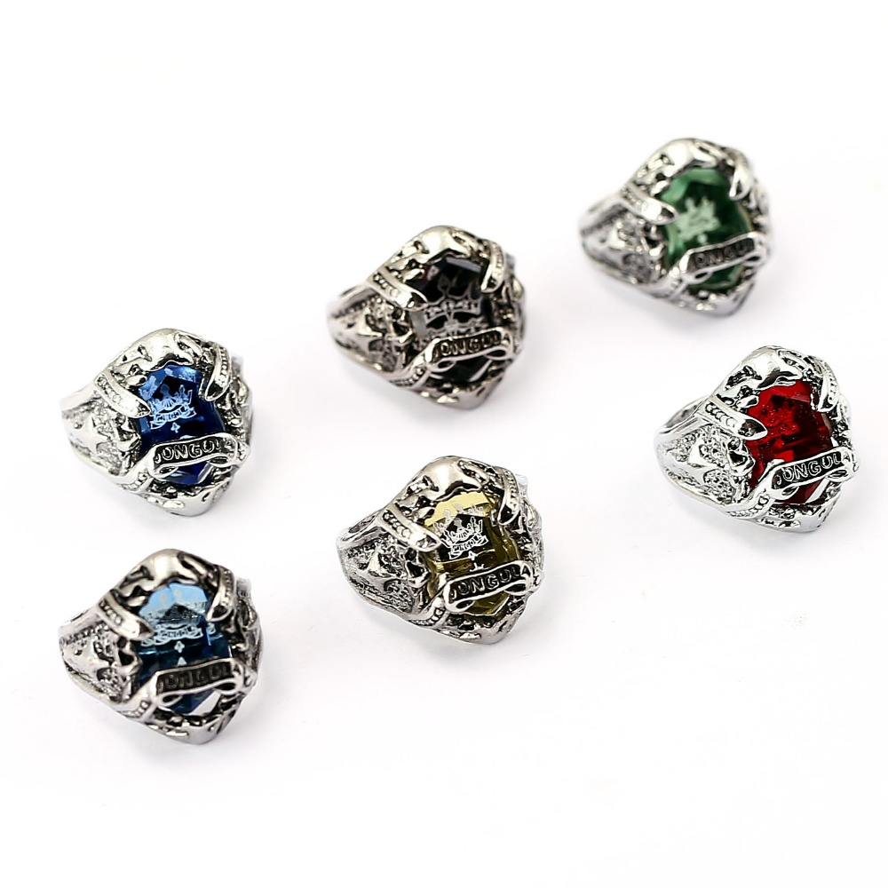 12pcs/lot Katekyo Hitman Reborn Ring Animation antioque silver plated Ring Vongola Revolving Jewelry with colorful stone inset