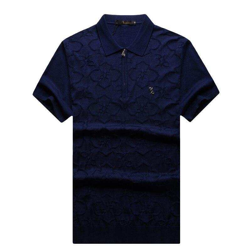 Camiseta de alta costura italiana multimillonaria para hombre 2017 Lanzamiento de comercio comodidad casual bonito diseño excelente calidad envío gratis-in Camisetas from Ropa de hombre    1