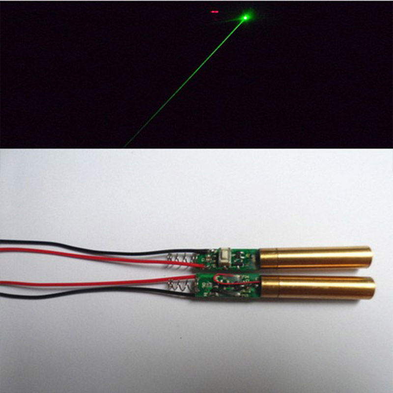 532 nm diameter of 8 mm industrial laboratory APC 3 VDC 1 mw green laser diode module la ...