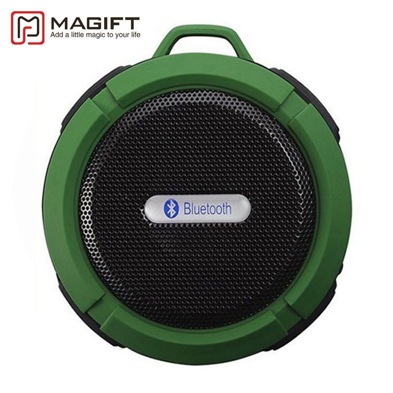Waterproof Bluetooth Speaker Mini Portable Wireless Loudspeaker with Suction Cup Handsfree for
