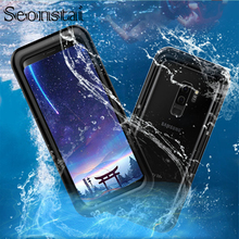 Waterproof Swimming Diving Case For Samsung Galaxy S9 S8 Plus Water Proof Dive Phone Bag Cases For Samsung S7 S6 Note 4 5 Fundas
