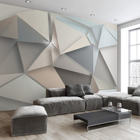 beibehang Custom Photo Wall Paper 3D Modern TV Background Living Room Abstract Art Wall Mural Geometric Wall Covering Wallpaper