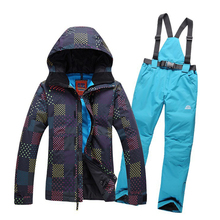 Free shipping ! Export Order rossignol ski suit women and men snowboard jacket pants skiing sport suit women