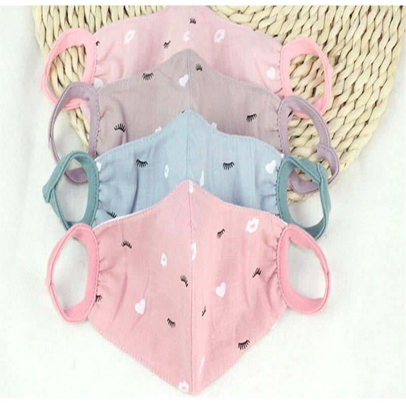 SchöN 20 Teile/beutel Herbst Und Winter Modelle Von Drei-dimensionale Baumwolle Druck Masken Frauen Outdoor Warm Schutz Masken Großhandel Noch Nicht VulgäR Masken
