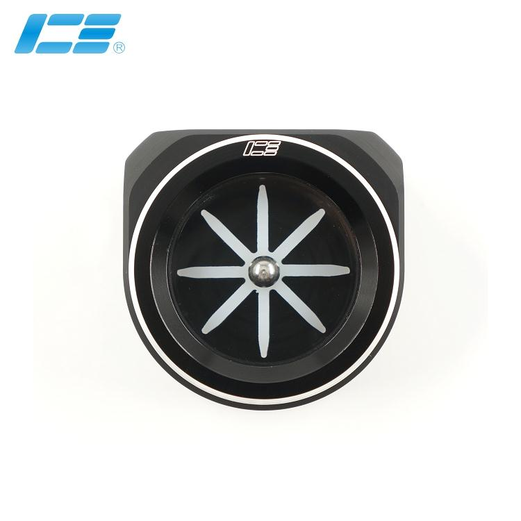 Icemancooler  Water Flow  Flower Indicator Black ,white Impeller POM Body New Arrival Watercooling Computer G1/4