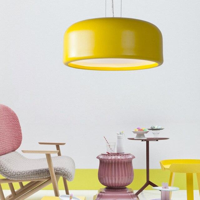 Scandinavian Modern Minimalist Restaurant Chandelier Living Room Bedroom Children S Model Showroom Macarons Chandeliers