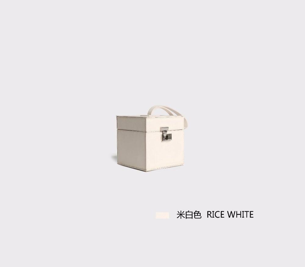 black pink White Chaude Sac Mode Petit D'épaule Rivet Rice red Ins 2018 En Cuir Paquet Verrouiller À Nouveau Messenger Main Unilynx Carré wqRUCHC
