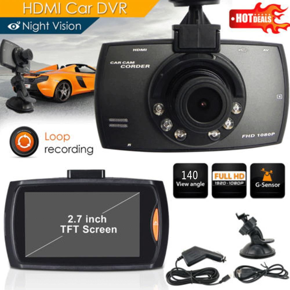 2.7 inch HD 1080P 2.0MP 140 Degree Wide Angle Motion