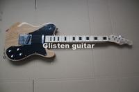 Neue Ankunft natur E-gitarre mit massiver erle korpus t 33 guitarra