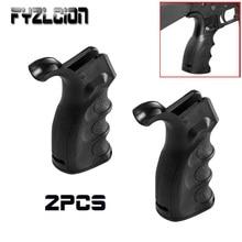 2 шт. тактика принадлежности для охоты полимер эргономичный винтовка Рукоятка пистолета палец канавки w/хранения RPR