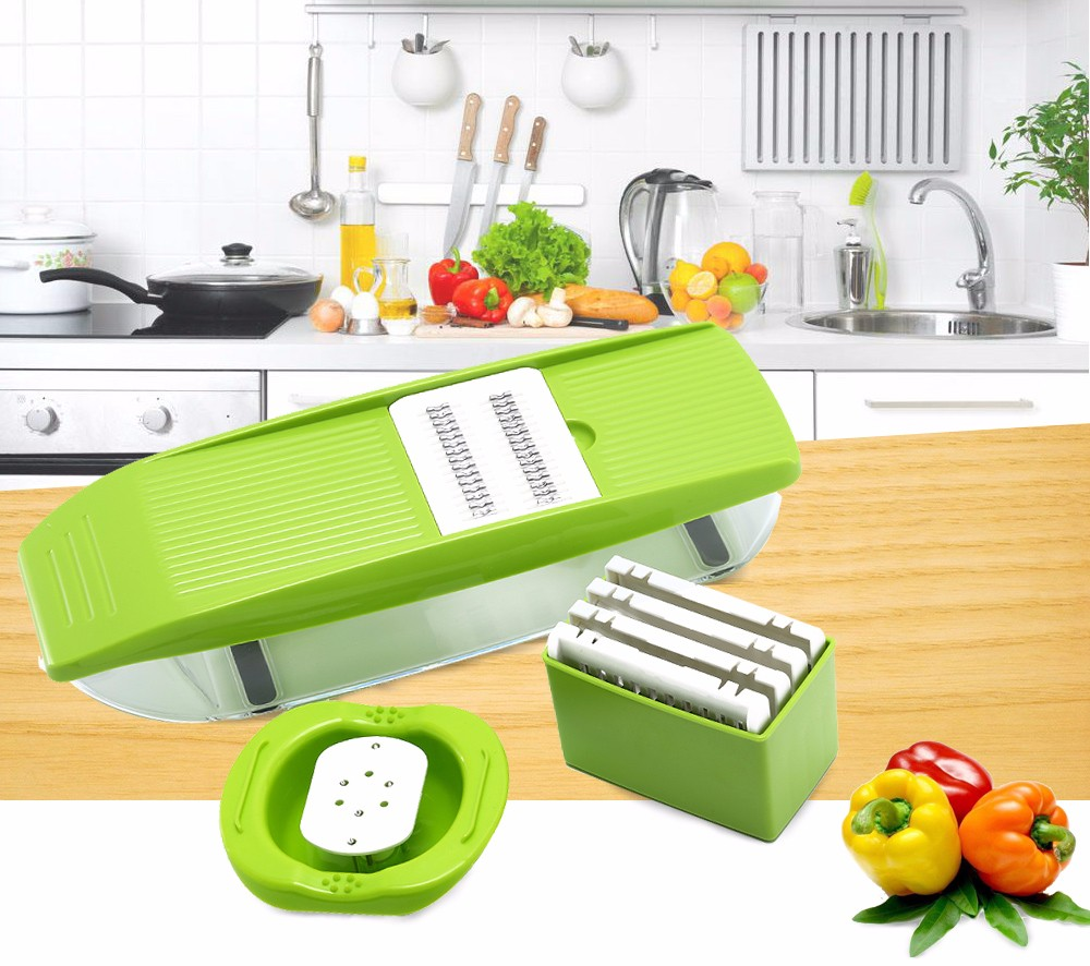 Uncategorized Mandolin Kitchen Appliance mandolin kitchen slicer promotion shop for promotional mandoline manual vegetable cutter with 5 blades fruit potato carrot grater accessories
