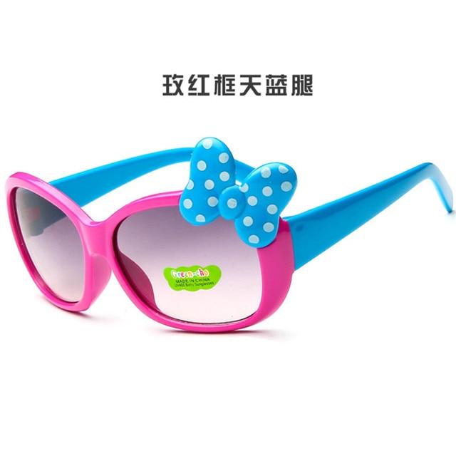 2018 nuevo bebé tr90 flexible niños Gafas de sol bebé niño Seguridad  recubrimiento Sol Gafas UV400 290dd4ec6858