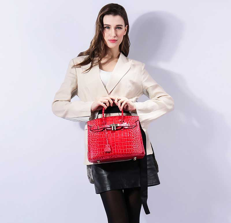 Genuine Leather Handbags Gift (3)