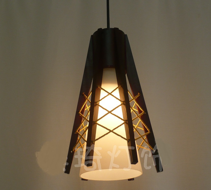 Chinese wooden pendant lights personalized restaurant study bar lighting retro cafe decorated glass lampshade pendant lamps ZA vintage bird pendant light glass pendant lights contemporary creative retro art glass cafe restaurant study lamps