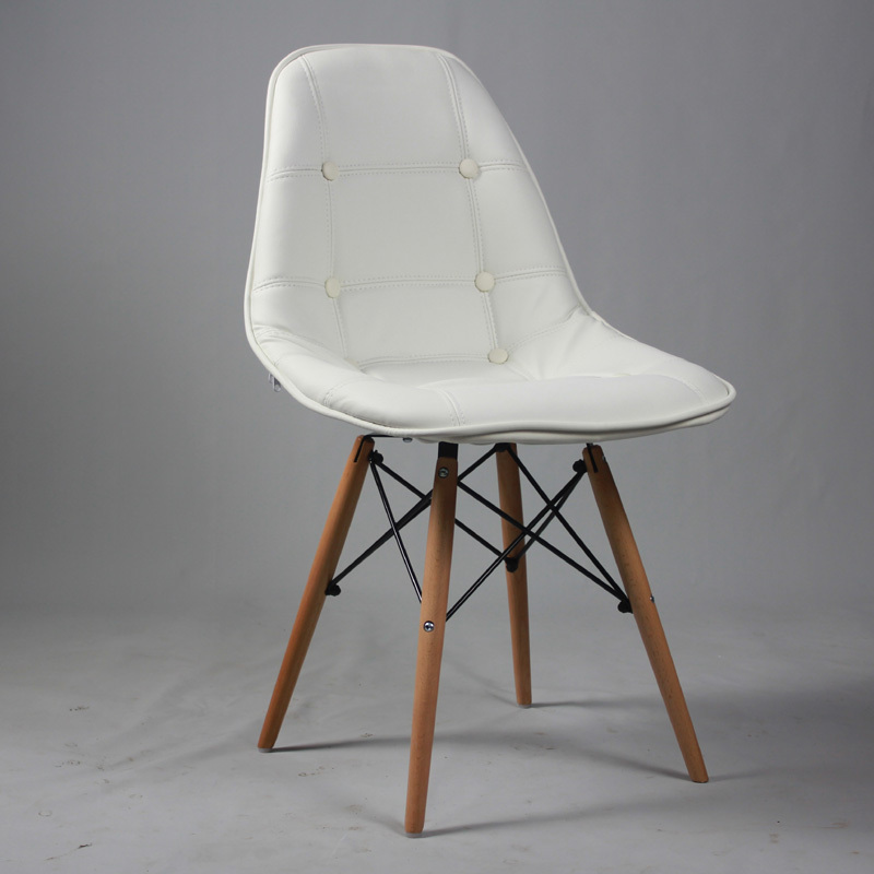 Eames Chair Simple And Stylish Casual European Style Chairs Upholstered Ikea Creative Restaurant Design Value In Shampoo From Furniture