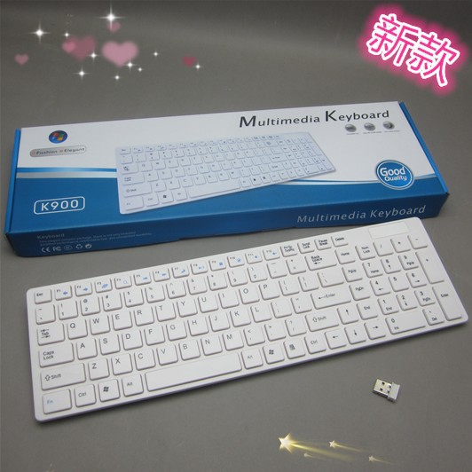 Aliexpress.com : Buy Super Slim 2.4Ghz Wireless Keyboard With Multimedia Function Support