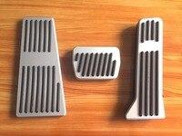 Gas Fuel Brake Footrest Foot Pedal Pad Cover Trim Kit AT MT For Mazda3 Mazda6 Mazda
