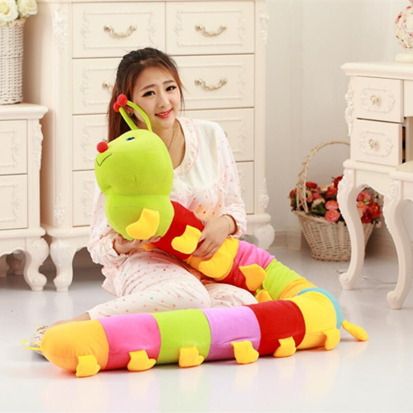 230cm Baby Toys Colorful Caterpillars Millennium Bug Doll Plush Toys Large Hold Pillow Doll toys for children алексей воронов путь домой