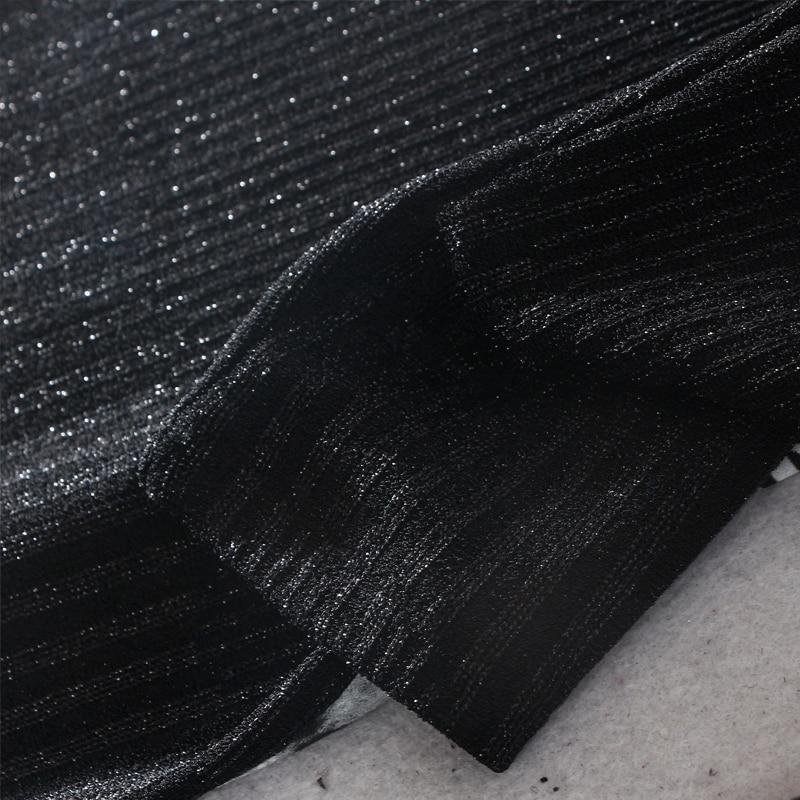 longueur ligne 2018 Manches Appliques Hiver 3xl Naturel Genou Stand L Mode A Nouveau Casual Complète Femmes Robes Col Black Samgpilee Imprimer v8OywNmPn0