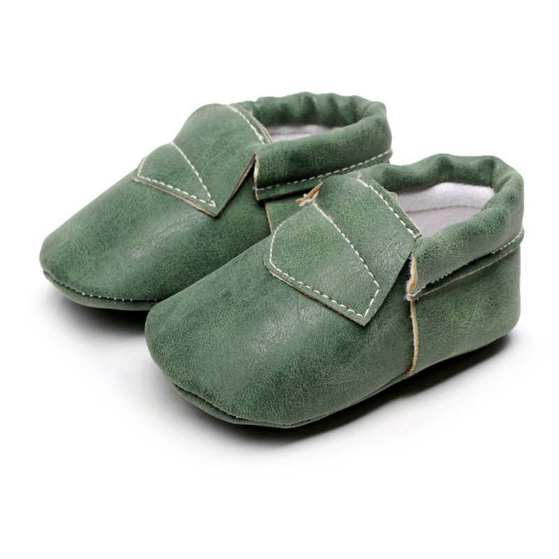 2016 PU Suede Leather Newborn Baby Boy Girl Baby Moccasins Soft Fringe Soft Soled Non-slip Footwear Crib Shoe