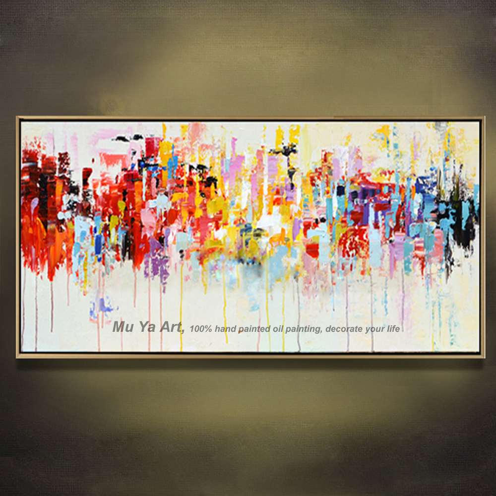 Famous Tableau Peinture Acrylic Painting Abstract Canvas Art