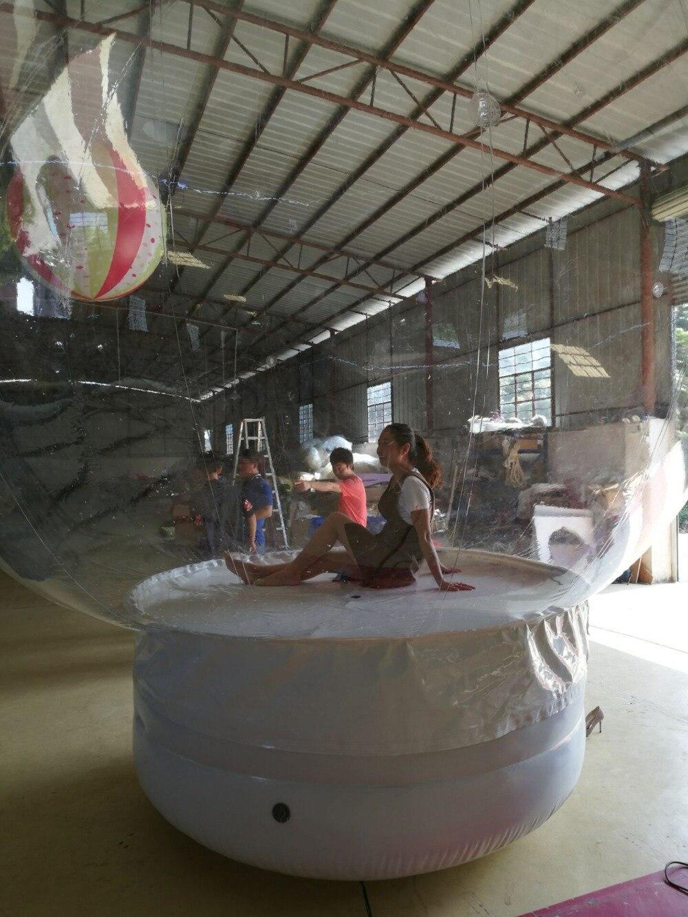 Kundenspezifische transparente Schneeflocke-Ball-Dekoration, - Outdoor-Spaß und Sport - Foto 3