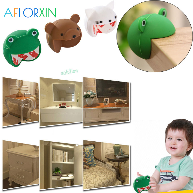 Baby Toddler Safety Proofing Table Edge Guard Protector// Corners 1m 2pcs