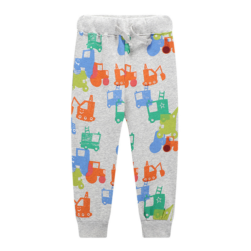 Jumping meters Animals Boys Trousers Pants Baby  clothes dinosaurs sweatpants for 2-7t years boys full pants kids trousers