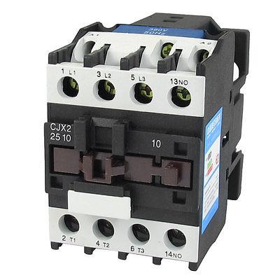 цена на 380V Coil Motor Controler AC Contactor 3 Pole NO N/O 660V 15KW CJX2-2510