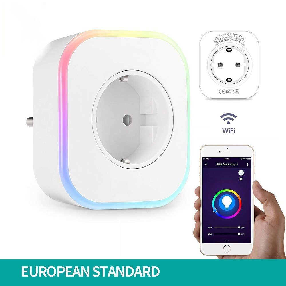 Furnishing Mobile Phone App Voice Timing Usb Remote Control European Rules And Regulations Socket Wifi Intelligence Socket