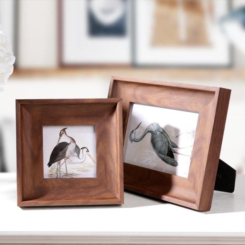 Estilo Retro 4/6/7/10 pulgadas marcos para fotos Vintage marco foto ...