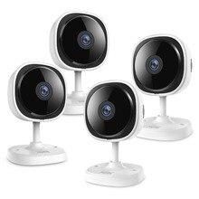 SANNCE 4 Miếng HD 1080 P Fisheye IP Máy Ảnh 2MP Không Dây Wifi Nhỏ Bé Giám Sát Tầm Nhìn Ban Đêm IR Cut Wi Fi home An Ninh Camara